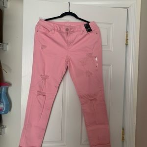 New York and Co. boyfriend crop length pant